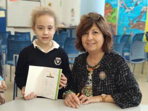 Ana Alcolea visita nuestro colegio