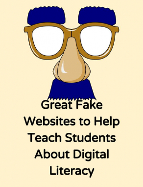 Great Fake Websites to Help Teach Students About Digital Literacy